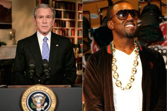 Kanye từng phát ngôn gây sốc về tổng thống trong quá khứ.