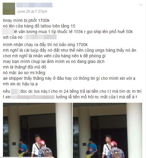 Hà Nội: Shipper khốn đốn vì bị kẻ giả mạo nhân viên cửa hàng lừa mất gần 2 triệu đồng - Ảnh 1.