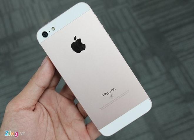 iPhone SE ruot iPhone 5 tran ngap o Sai Gon hinh anh 2