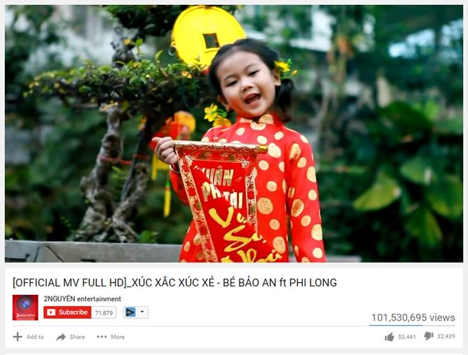 MV cua Bao An vuot Son Tung M-TP lap ky luc 100 trieu view hinh anh 1