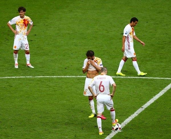 Conte, Del Bosque, Tây Ban Nha, Italia, EURO 2016, tứ kết