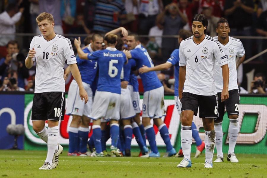Trận cầu Đức - Italia hứa hẹn sẽ vô cùng hấp dẫn