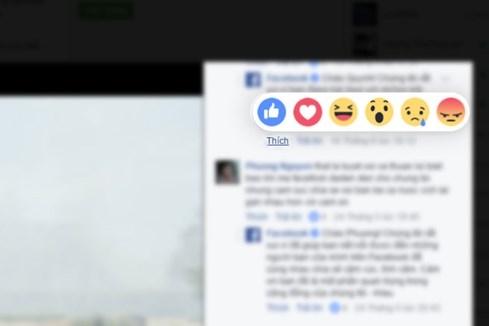 Facebook cập nhật tính năng bày tỏ cảm xúc cho người dùng Việt Nam - ảnh 1