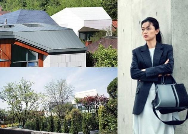 Hé lộ hình ảnh biệt thự siêu cao cấp trị giá trăm tỷ của vợ chồng Jeon Ji Hyun - Ảnh 1.