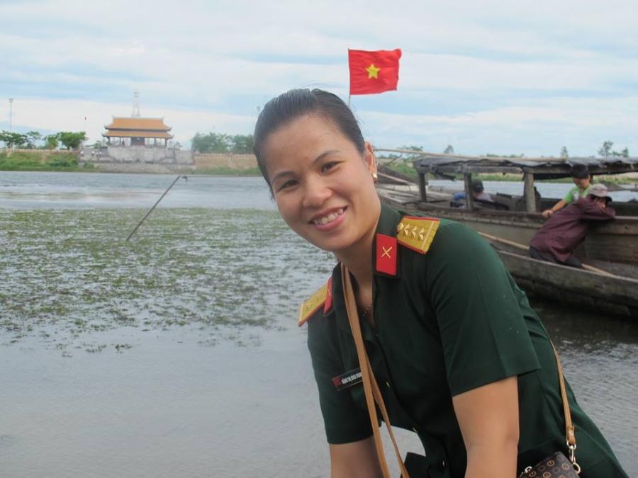 Đại úy Đặng Thị Bích Trang