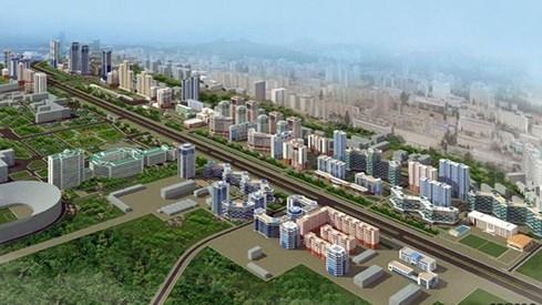Triều Tiên huy động toàn dân góp nồi, chảo... cho công trình trăm triệu USD - ảnh 1