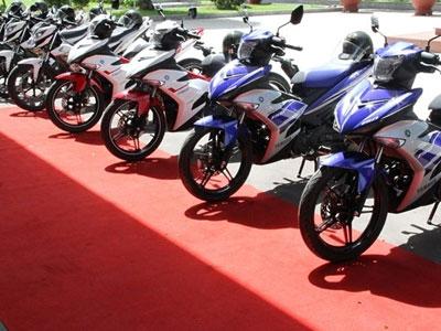 2 dòng môtô 150cc vừa bàn giao cho cảnh sát TP HCM