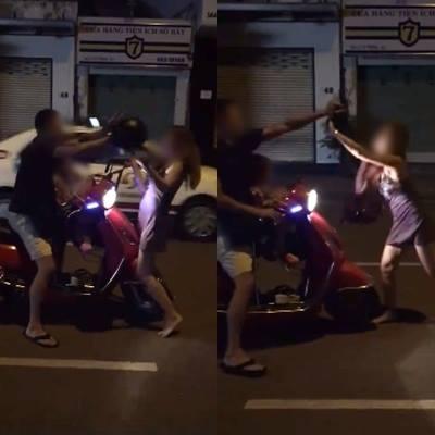 Người vợ dùng mũ bảo hiểm đánh chồng lên tiếng: Ân hận vì phút bốc đồng mà để con thấy cảnh xô xát - Ảnh 1.
