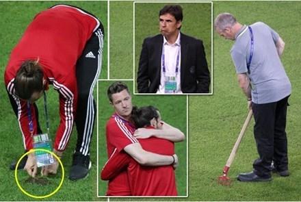 Bale và các đồng đội từ chối tập luyện vì mặt sân xấu.