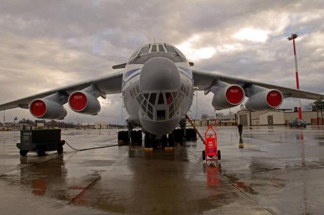 Máy bay Il-76. (Ảnh: Sputnik)