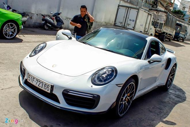 Sieu xe Porsche 911 Turbo S thu 2 ve Viet Nam gia 14,5 ty hinh anh 3