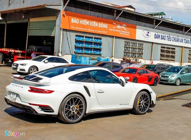 Sieu xe Porsche 911 Turbo S thu 2 ve Viet Nam gia 14,5 ty hinh anh 4