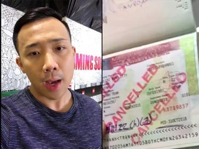 Visa vào Mỹ của Trấn Thành có vấn đề gì?