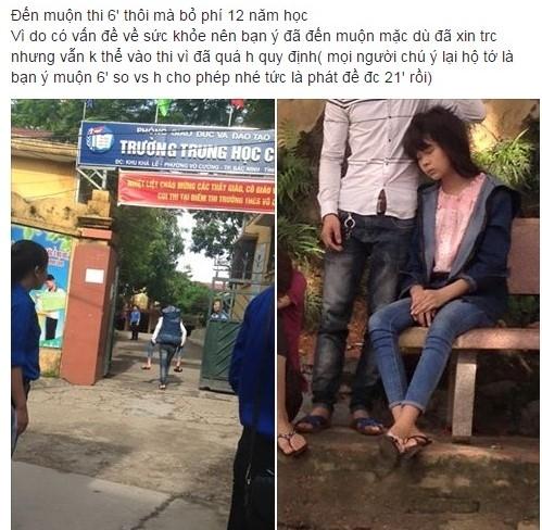 Dan mang tiec nuoi cho nu sinh Bac Ninh sot cao phai bo thi hinh anh 1