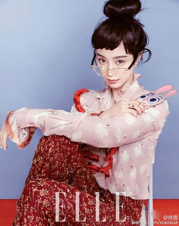 Phạm Băng Băng nghịch ngợm 'vô đối' trên tạp chí 4