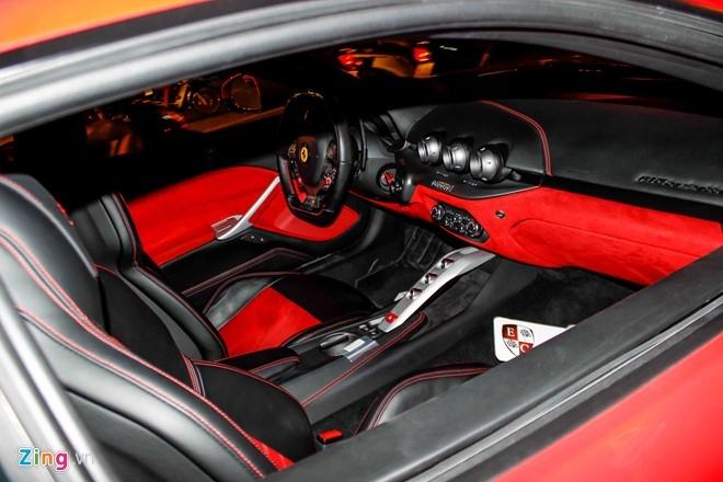 Sieu xe Ferrari F12 nhap tu Dubai ve Viet Nam hinh anh 6