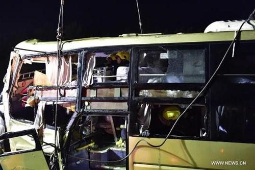 Tai nạn xe buýt thảm khốc trên cao tốc, 26 người chết - ảnh 6