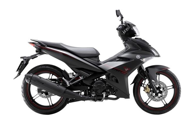Yamaha Exciter 150 them mau son den nham tai Viet Nam hinh anh 1