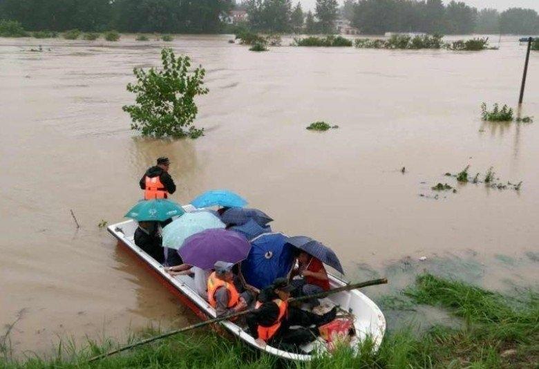 lũ lụt, Trung Quốc, Hồ Bắc, An Huy, thương vong
