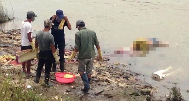 Sau hơn 1 tuần tìm kiếm, thi thể cô gái xấu số được tìm thấy khi nổi trên sông Đào