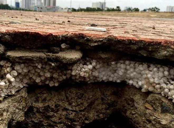 Cienco 5 nói gì về bê tông cốt xốp ở cầu vượt đường sắt Hà Nội?