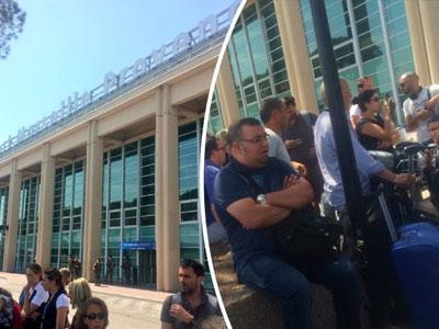 Phi trường Marseille bị sơ tán 2 ngày trước bán kết Euro