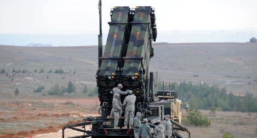 Hệ thống tên lửa Patriot (Ảnh: Sputnik)