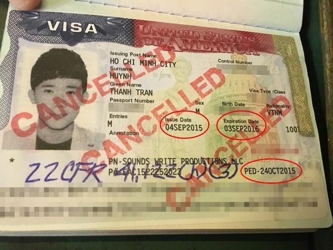 'Khong co sai sot trong visa cua Tran Thanh' hinh anh 1