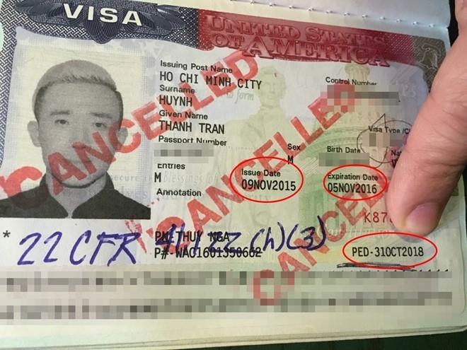 'Khong co sai sot trong visa cua Tran Thanh' hinh anh 2