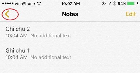 Làm thế nào để khôi phục 'ghi chú' vừa lỡ xóa trên iPhone - ảnh 1