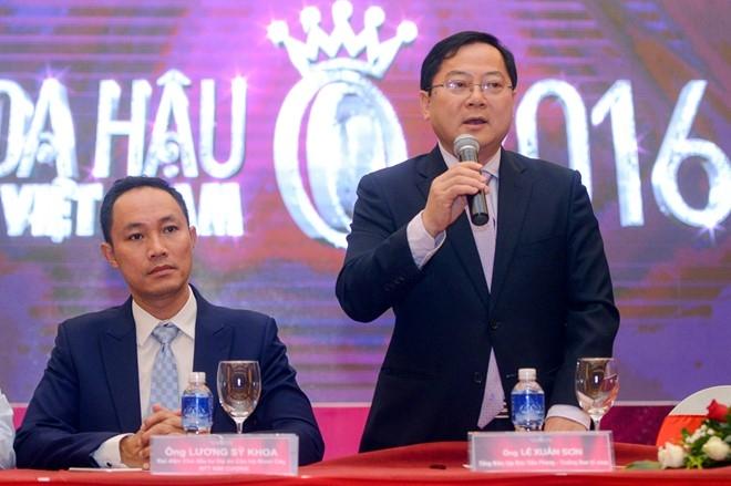 Ly do Tran Thanh tham gia binh luan tai Hoa hau VN hinh anh 1
