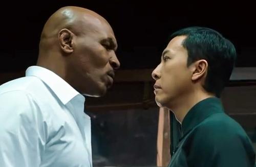 Mike Tyson vào vai đối đầu với Chân Tử Đan trong Ip Man 3.