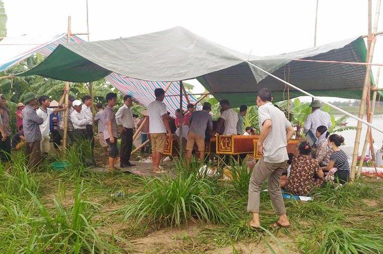 thai binh: hai tàu dá dam nhau tren song, 4 nguoi tu vong hinh anh 3