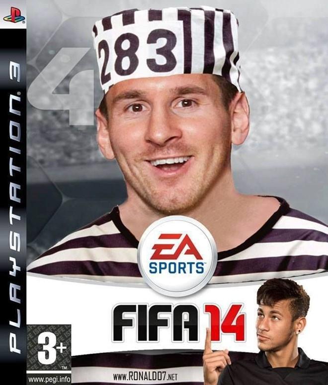 Anh che Messi di tu tran ngap Internet hinh anh 5