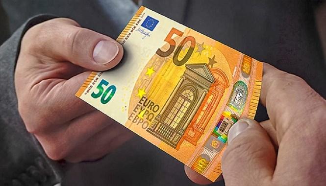Giấy bạc 50 EUR mới /// Ảnh: Ngân hàng Trung ương châu Âu (ECB)