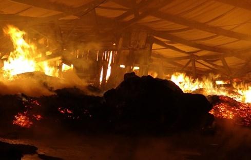 Cháy lớn ở công ty sản xuất khung hình - ảnh 2