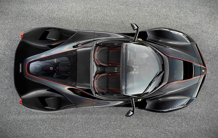 Chính thức lộ diện siêu phẩm Ferrari LaFerrari mui trần - ảnh 3