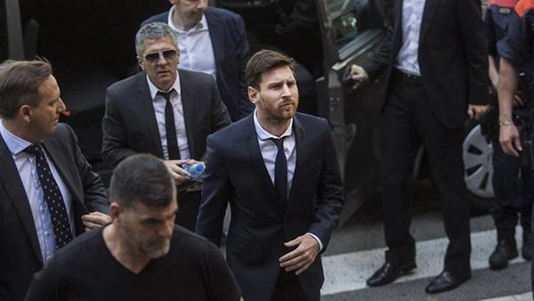 Lionel Messi, Messi, Jorge Messi, trốn thuế, đi tù
