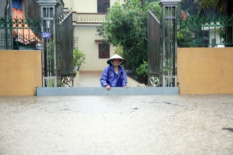mưa lớn, ngập lụt, Quảng Ninh