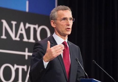 Tổng thư ký NATO Jens Stoltenberg. Ảnh: CDM