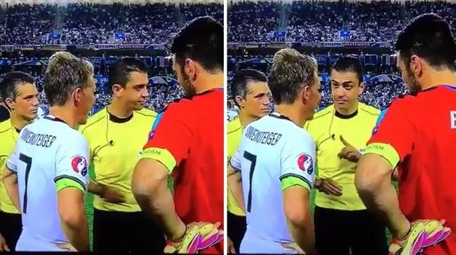 Quyết định cực dị trước loạt sút penalty khiến trọng tài tròn mắt của Bastian Schweinsteiger - Ảnh 2.
