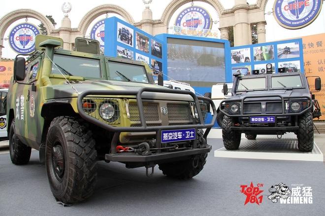 Trung Quốc sao chép thành công mãnh hổ Tigr của Nga - Ảnh 2.
