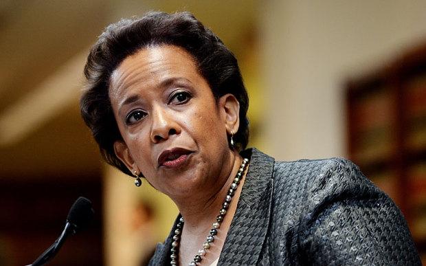 Bộ trưởng Tư pháp Mỹ Loretta Lynch (Ảnh: EPA)
