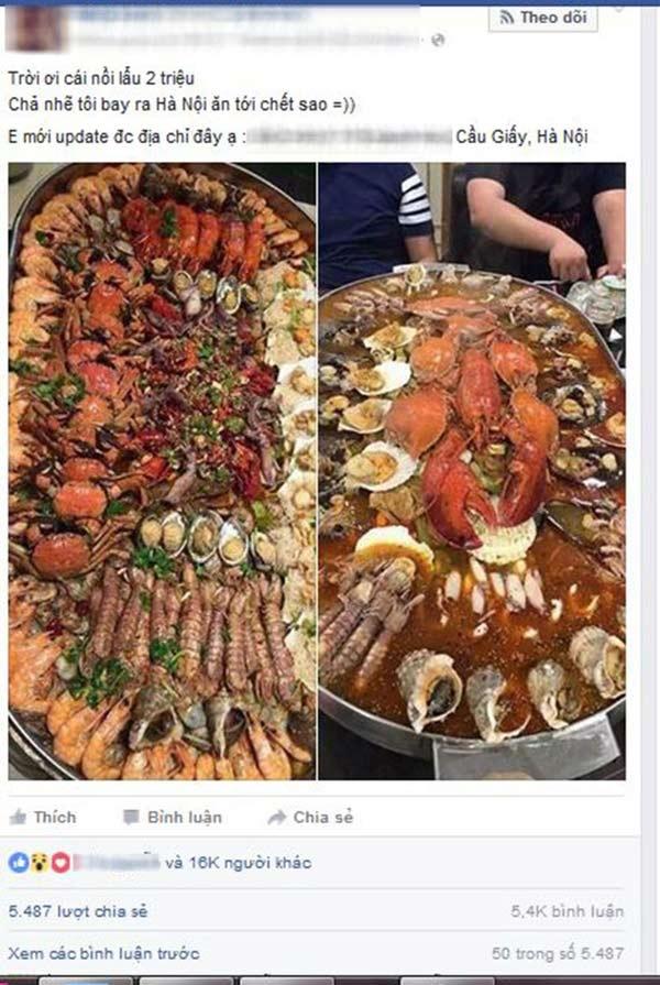 Clip: Chủ quán lẩu hải sản hot nhất trên mạng nói gì về nồi lẩu bị gọi là treo đầu dê bán thịt chó? - Ảnh 1.