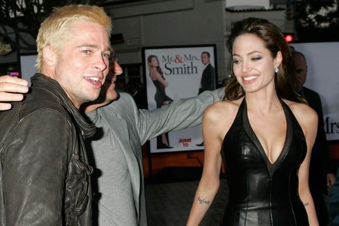 Khoanh khac dep cua Brad Pitt va Angelina Jolie trong 13 nam hinh anh 2
