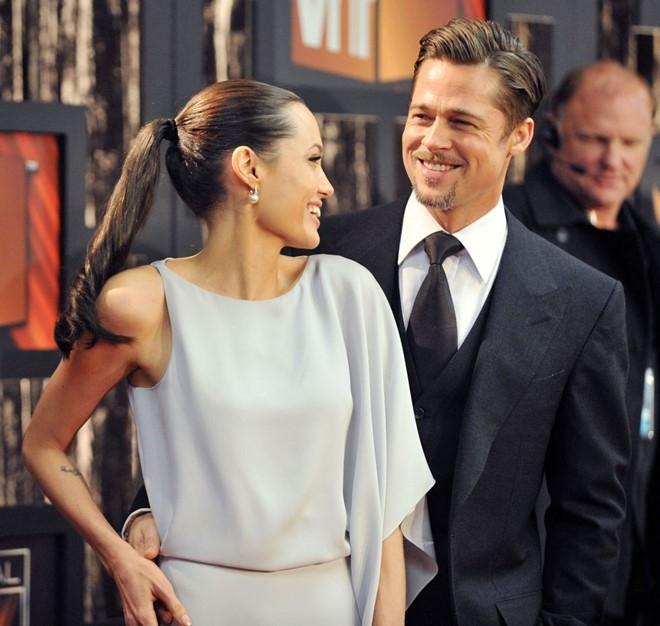 Khoanh khac dep cua Brad Pitt va Angelina Jolie trong 13 nam hinh anh 8