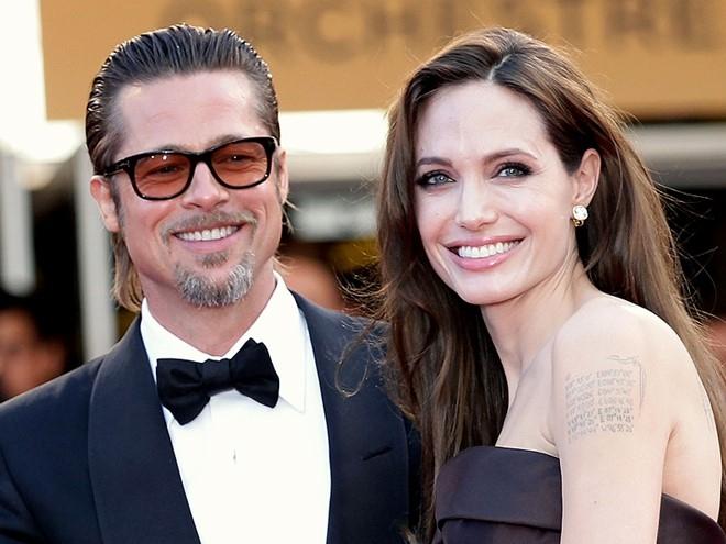 Khoanh khac dep cua Brad Pitt va Angelina Jolie trong 13 nam hinh anh 16