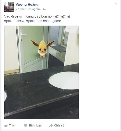 Một thanh niên Việt Nam đã bắt được Pokemon nhờ lao vào nhà vệ sinh nữ - Ảnh 1.