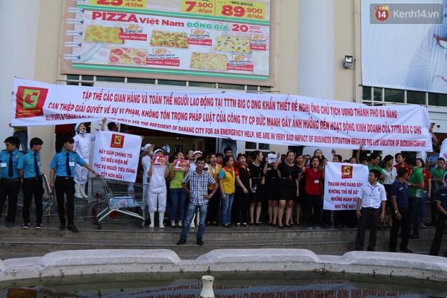 Náo loạn tại Trung tâm thương mại Big C Đà Nẵng - Ảnh 1.