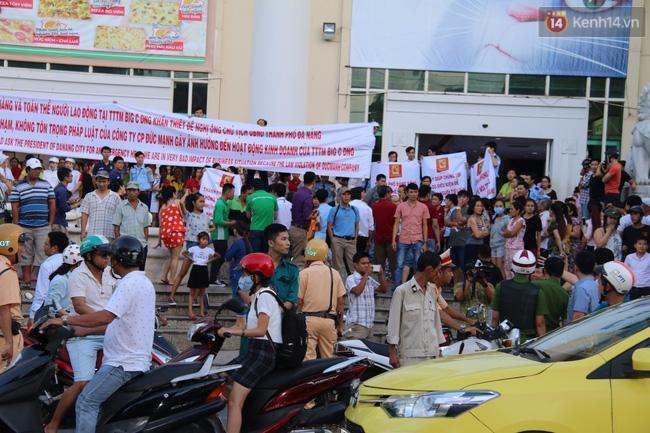 Náo loạn tại Trung tâm thương mại Big C Đà Nẵng - Ảnh 3.